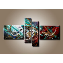 Original Created Canvas Abstract Oil Painting