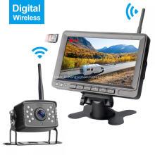 Kit de caméra de recul sans fil pour moniteur numérique 7 pouces