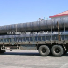 spiral welded steel pipe SSAW TUBE 20# 40# X52 X60 X70 PIPELINE WATER GAS