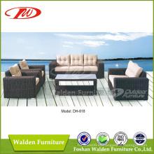 Muebles Rattan Redonda