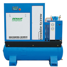 25hp Rotary Screw Air compressor with dryer, tank, filter