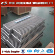 Barra de aluminio y Plater China Turbo Intercooler Core