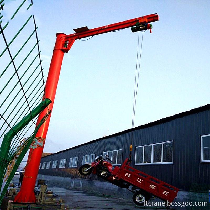slewing jib crane