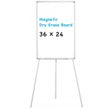 Easel Stand White Magnetic Dry Erase Board 36X24inch