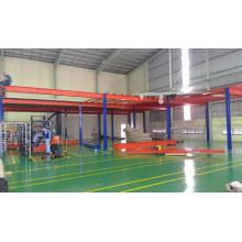 Industrial Mezzanine Shelf and Floor System