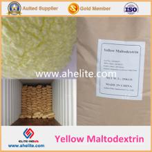 Maltodextrine jaune de qualité alimentaire pour café, chocolat, boisson au cacao
