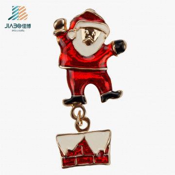 Продвижение подарок Санта-Клаус литья сплава металлический Брелок на Рождество