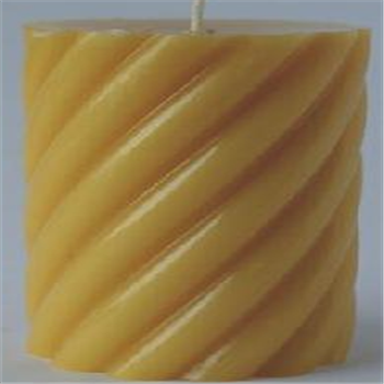 Beewax art candle04