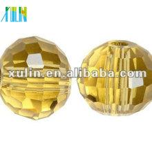 Китайская 96 граненый кристалл дискотечный шар бисер 5003/бледно-желтый цвет бусины