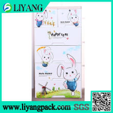 Hello Rabbit Theme, Heat Transfer Film for Sorting Box