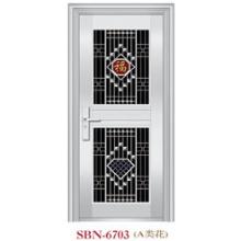 Porta de aço inoxidável para sol exterior r (SBN-6703)