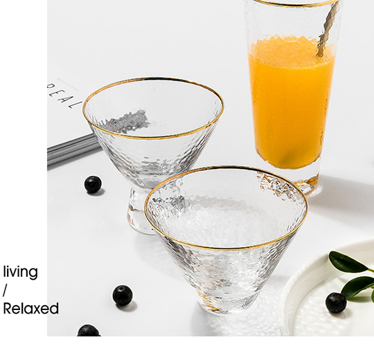 Creative glass cups