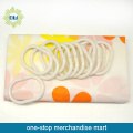 PEVA Shower Curtain And Non-Slip Bath Mat Set W/12Pcs C Hooks