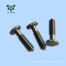 Fabricante CNC mecanizado de piezas de recambio torneadas de acero inoxidable.
