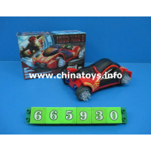 Battery Operated 3D Car Toys with Light and Music (665930)