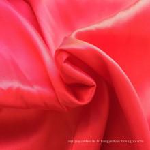 Tissu en coton en nylon Tissu en satin en soie Feel Spandex Tissu