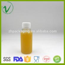 Garrafa plástica vazia de plástico PET 100ml para embalagem de suco