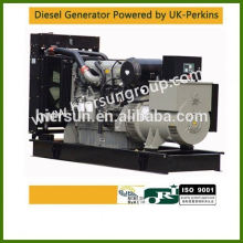 AC three phase output type Powered by perkins 280kw/350kva electric generator auto start