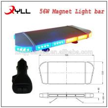 27.5'' Led Light bar,Mini strobe light bar,led mini red and blue Lightbar 56W DC12-24V