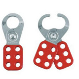 K02 VINYL COATED HASP WITH HOOKDS SAFETY LOCKS