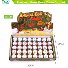 Nueva Magic Round Growing Pet Dinasour Huevos para eclosionar huevos