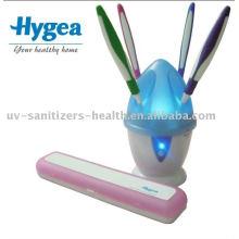 Cómodo desinfectante cepillo de dientes UV para la familia HH10