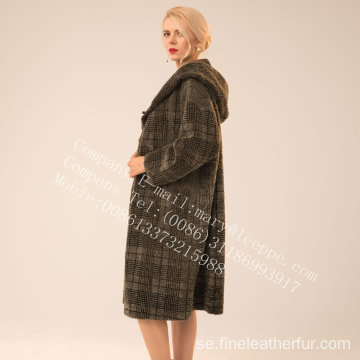 Winter Reversible Lady Spain Merino Shearling Coat