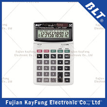 Calculatrice de bureau de fonction fiscale à 12 chiffres pour Office (BT-228T)