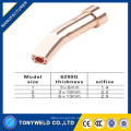 gas cutting torch nozzle 6290NXM Type for welding torch