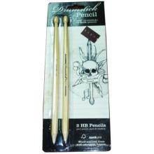 hölzerne Buntstifte Masse, Kinder Farbe Bleistift gesetzt, Zeichnung natürliche Farbe Drum Stick Penci Set