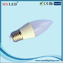 CE RoHS Approval Candle Light 3.5w E27 E14 LED Light Bulbs