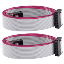 Custom ribbon cable female connector AWM 2651 IDC flat cable