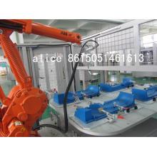 Máquina de soldadura por ultrasonidos robótica