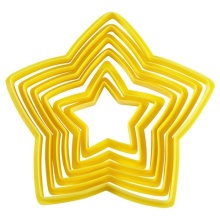 Plastic Pastry Cookie Cutter Set