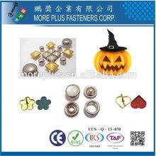 Taiwan Stainless Steel Halloween Costume Mask Decoration Screw