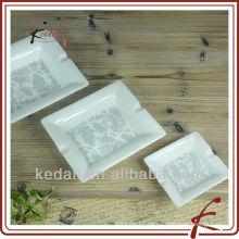 Neue Design Keramik Quadrat Aschenbecher