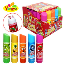 Hot Selling Crazy Fruits Jelly Lipstick Candy