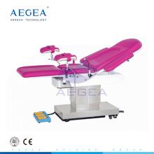Gynäkologische Untersuchungstabelle AG-C305 elektrische rosa Farbe mit vielen Funktionen