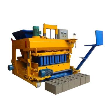 QMJ-6A mobile hollow block making machine concrete block machine