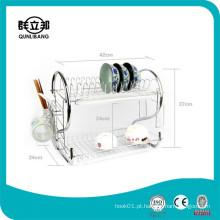Chrome Plating Dish Rack / Dish Drying Rack China Fabricante Kitchen Ware