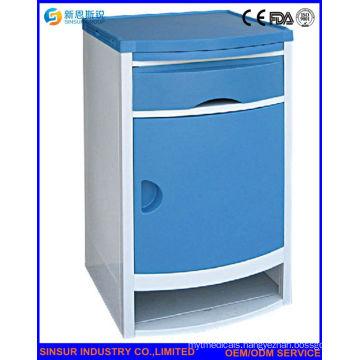High Quality ABS Hospital Ward Hospital Bedside Cabinet
