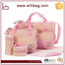 5 PCS bébé sac mis bébé imperméable à l'eau microfibre couches sac pour maman