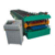 Kaltfarbige Doppelschicht-Walzenformmaschine