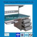 2014 newest oem custom metal work bench with drawers, lights and sockets
