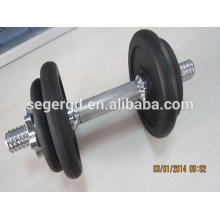 China gym cast iron dumbbell set