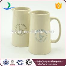 YSj0013 Atacado moderno decalque cerâmica banheiro jarro