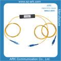 PLC Splitte 1 * 2 Splitter optique de fibre