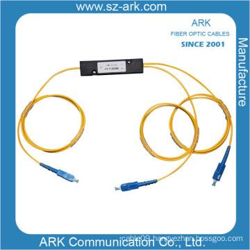 PLC Splitte 1*2 Fiber Optic Splitter