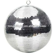"12 ""SPIEGEL DISCO BALL SILBER GLITTER PARTY DECORATION GRAD TANZ"