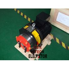 Máquina de tração sem engrenagens para elevação de casas